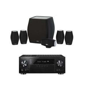 Pioneer VSX-1131 AV Receiver w/ Monitor Audio MASS Speaker Package 5.1
