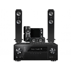 Pioneer VSX-831 w/ Q Acoustics 3050 Speaker Package 5.1