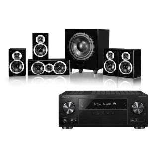 Pioneer VSX-1131 AV Receiver w/ Wharfedale DX-1SE Speaker Package 5.1