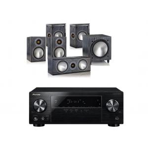 Pioneer VSX-531 w/ Monitor Audio Bronze 1 Speaker Package 5.1