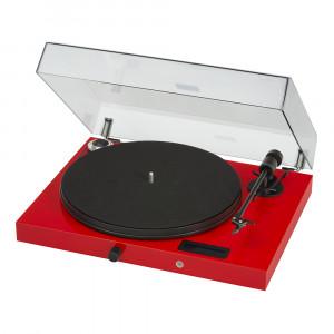 Pro-Ject Juke Box E Turntable (Open Box, Red)