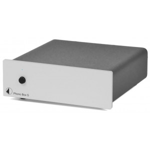 Pro-Ject Phono Box S Turntable Pre-Amplifier Silver