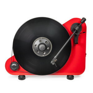 Pro-Ject VT-E BT Bluetooth Vertical Turntable Red