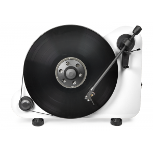 Pro-Ject VT-E BT Bluetooth Vertical Turntable White