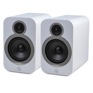 Q Acoustics 3030i Bookshelf Stereo Speakers Arctic White