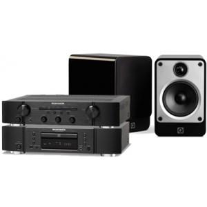 Marantz PM6006 Amplifier & CD6006 CD Player & Q Acoustics Concept 20 Speakers