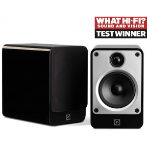 Q Acoustics Concept 20 Speakers (Black, Open Box)