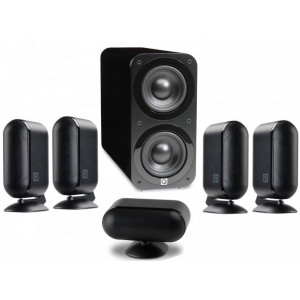 Q Acoustics 7000i PLUS Speaker Package (Open Box, Black)