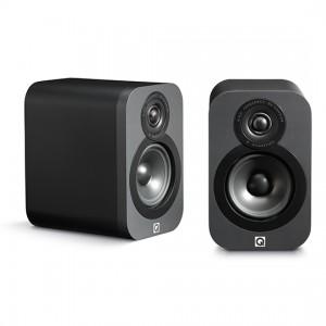 Q Acoustics 3010 Speakers (Open Box, Graphite)