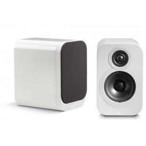 Q Acoustics 3010 Speakers (Open Box, Gloss White)