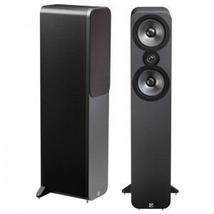 Q Acoustics 3050 Floorstanding Stereo Speakers Pair - Matt Graphite