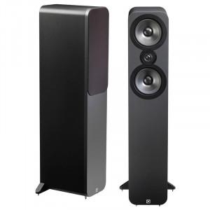 Q Acoustics 3050 Speakers (Open Box, Graphite Black)