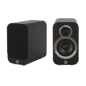 Q Acoustics 3020i Speakers (Open Box, Carbon Black)