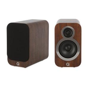 Q Acoustics 3010i Speakers (Damaged, Walnut)