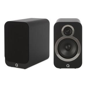 Q Acoustics 3020i Speakers (Slight Mark, Black)