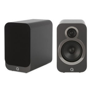 Q Acoustics 3020i Bookshelf Speakers Graphite Grey