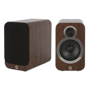 Q Acoustics 3020i Speakers (Open Box, Walnut)