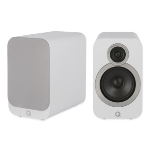 Q Acoustics 3020i Bookshelf Speakers Arctic White