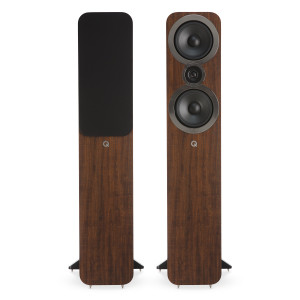 Q Acoustics 3050i Floorstanding Speakers English Walnut