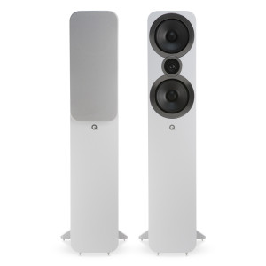 Q Acoustics 3050i Floorstanding Speakers Arctic White