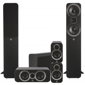 Q Acoustics 3050i 5.1 Cinema Pack Carbon Black
