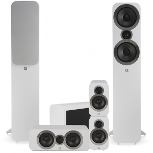 Q Acoustics 3050i 5.1 Cinema Pack Arctic White