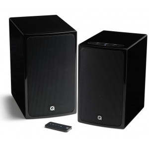 Q Acoustics BT3 Bluetooth Stereo Speakers Gloss Black