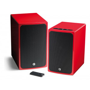Q Acoustics BT3 Bluetooth Stereo Speakers Gloss Red
