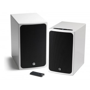 Q Acoustics BT3 Bluetooth Stereo Speakers Gloss White
