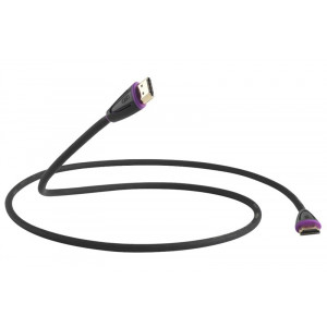 QED Profile eFlex HDMI Cable 1m Black