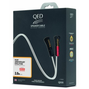 QED Ruby Anniversary Evolution Speaker Cable 2.0m