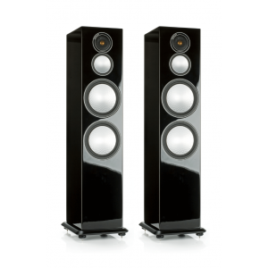 Monitor Audio Silver 10 Floorstanding Speakers Gloss Black