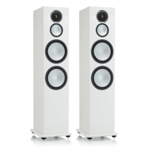 Monitor Audio Silver 10 Speakers - Gloss White