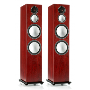 Monitor Audio Silver 10 Floorstanding Speakers Rosenut
