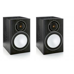 Monitor Audio Silver 2 Speakers-Black Oak