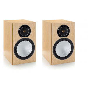 Monitor Audio Silver 2 Speakers-Natural Oak