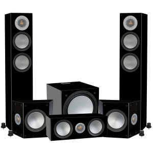 Monitor Audio Silver 200 AV12 Speaker Package (5.1)