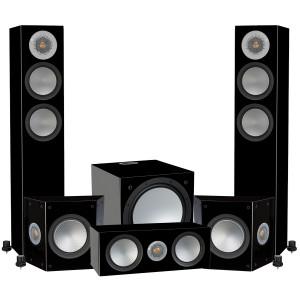 Monitor Audio Silver 200 AV12 Floorstanding Speaker Package