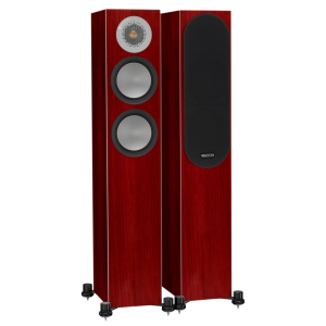 Monitor Audio Silver 200 Floorstanding Speakers Rosenut