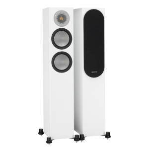 Monitor Audio Silver 200 Floorstanding Speakers Satin White