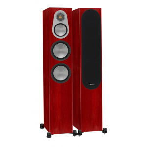 Monitor Audio Silver 300 Floorstanding Speakers Rosenut