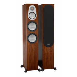Monitor Audio Silver 300 Floorstanding Speakers Walnut