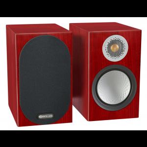 Monitor Audio Silver 50 Bookshelf Speakers Rosenut
