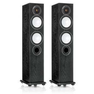 Monitor Audio Silver 6 Floorstanding Speakers Black Oak
