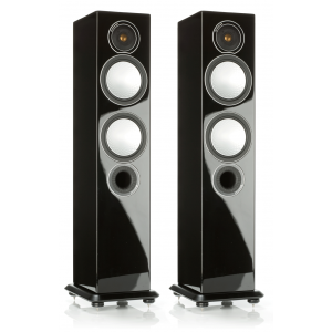 Monitor Audio Silver 6 Speakers-Gloss Black