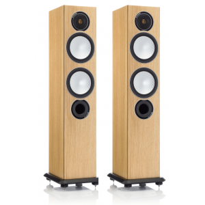 Monitor Audio Silver 6 Speakers - Natural Oak