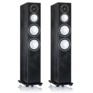 Monitor Audio Silver 8 Floorstanding Speakers Black Oak