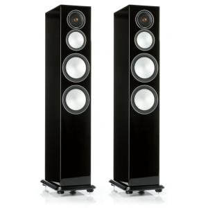 Monitor Audio Silver 8 Floorstanding Speakers Gloss Black
