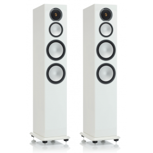 Monitor Audio Silver 8 Floorstanding Speakers Gloss White