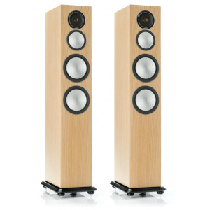 Monitor Audio Silver 8 Floorstanding Speakers Natural Oak